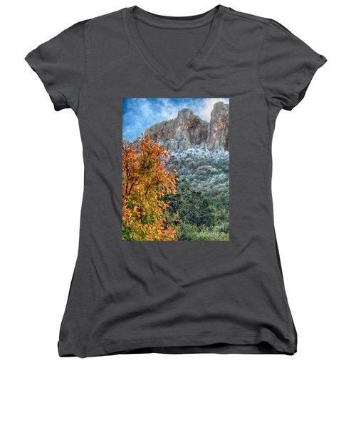 The Basin Women's V-Neck T-Shirt