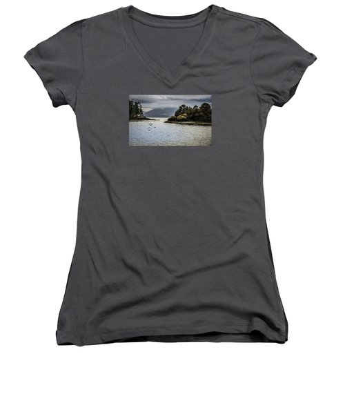 The Bay Women's V-Neck (Athletic Fit)
