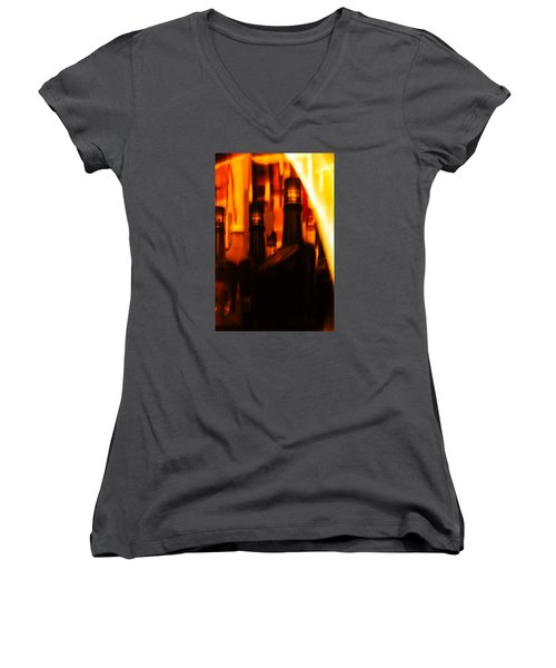 The Beautiful Colours Women's V-Neck T-Shirt