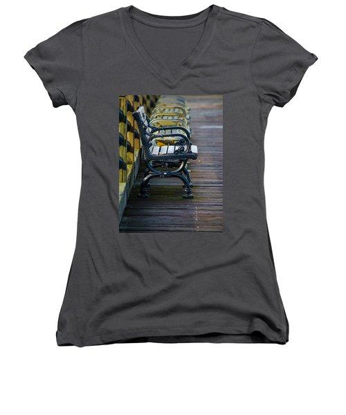 The Bench Women's V-Neck T-Shirt