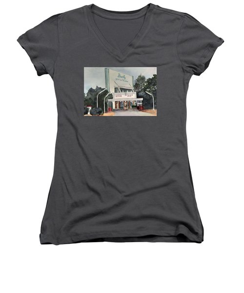 The Beverly Drive Inn Women's V-Neck T-Shirt