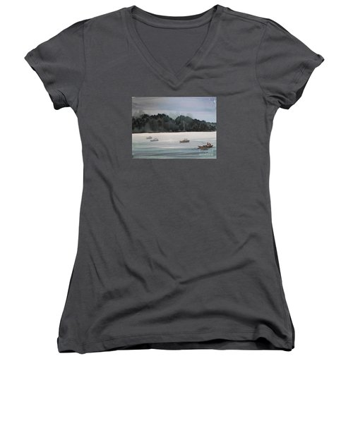 The Boat Ride Women's V-Neck
