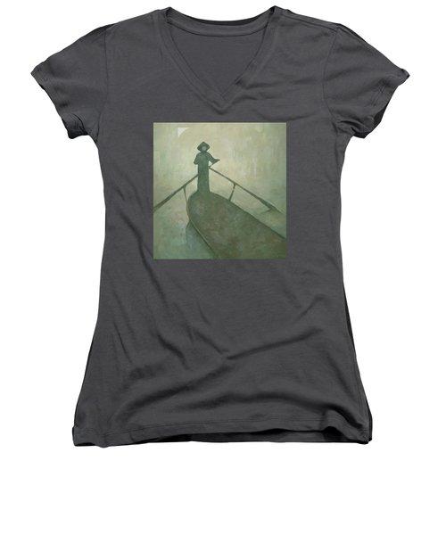 The Boatman Women's V-Neck