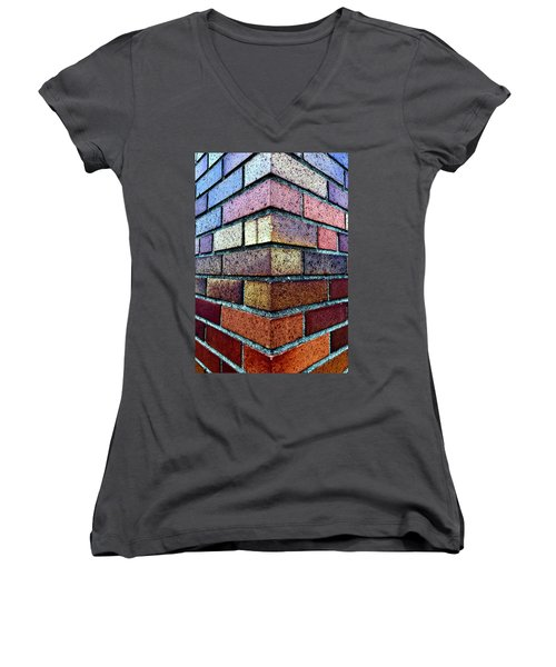 The Brass Monkey Women's V-Neck T-Shirt