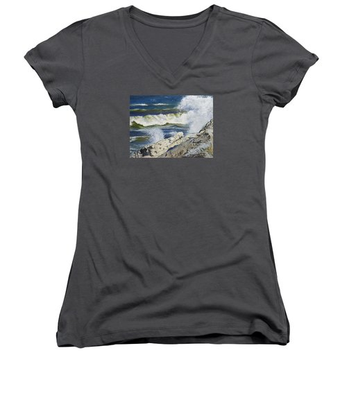 The Break Women's V-Neck