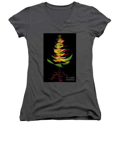 The Burning Bush Women's V-Neck