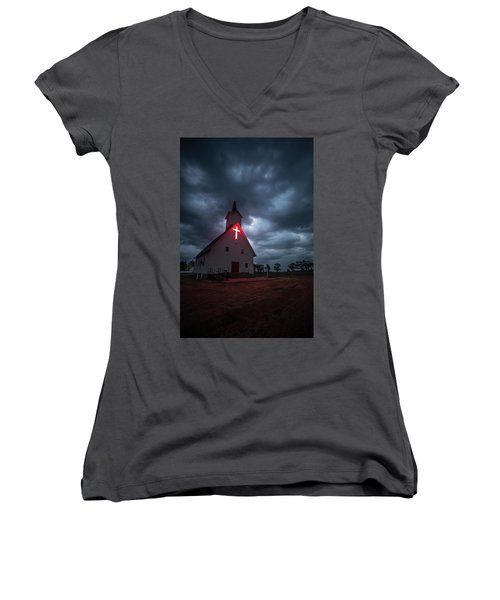 The Calling Women's V-Neck (Athletic Fit)
