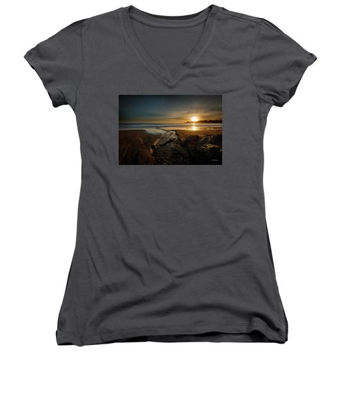 The Calming Bright Light Women's V-Neck (Athletic Fit)