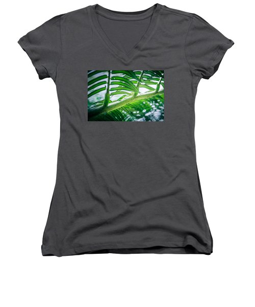 The Camouflaged Women's V-Neck