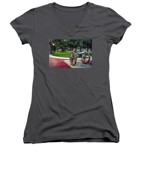The Cannon In The Park Women's V-Neck
