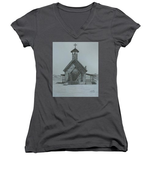 The Chapel  Women's V-Neck (Athletic Fit)