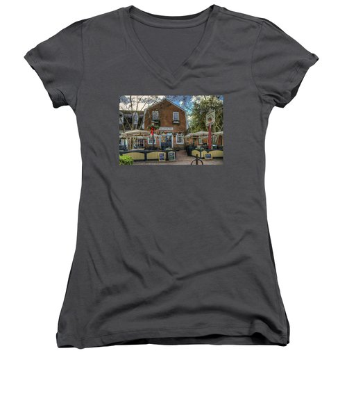 The Cheese Shop Women's V-Neck T-Shirt