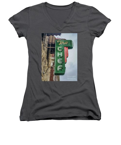 The Chef Women's V-Neck (Athletic Fit)