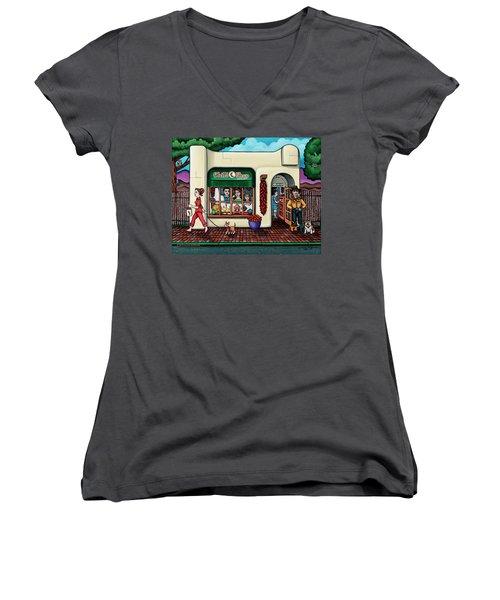 The Chile Shop Santa Fe Women's V-Neck