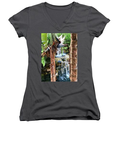The Choice For Life Women's V-Neck T-Shirt (Junior Cut) by Kicking Bear Productions