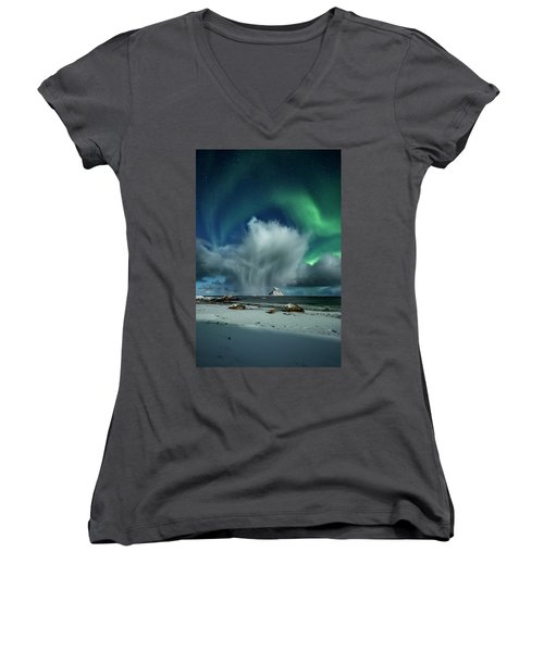 The Cloud I Women's V-Neck (Athletic Fit)