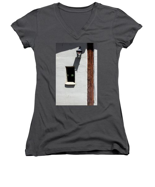 The Coach House Women's V-Neck T-Shirt (Junior Cut) by Kandy Hurley