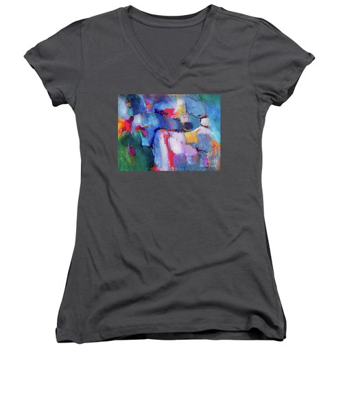 The Collaboration Women's V-Neck T-Shirt