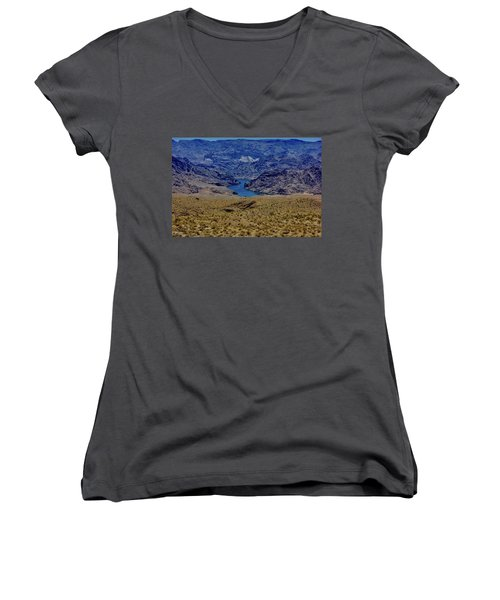 The Colorado River  Women's V-Neck (Athletic Fit)