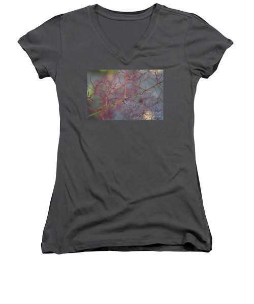 The Confusion Women's V-Neck T-Shirt (Junior Cut) by Victor K