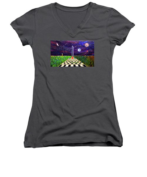 The Cooornfffield Women's V-Neck