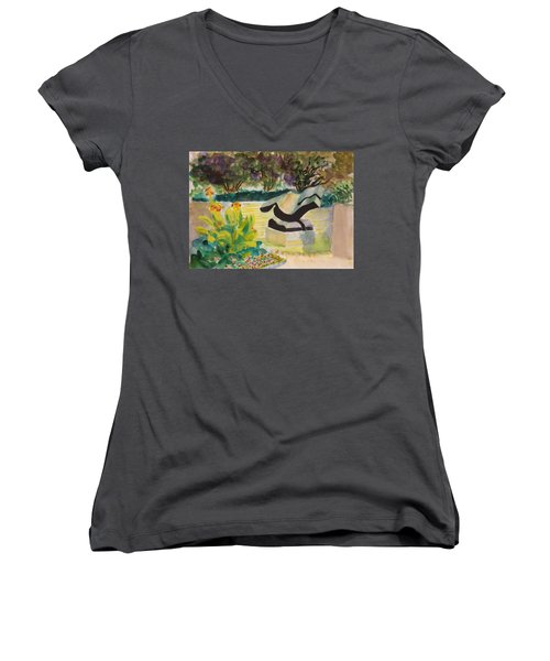 The Corinthian Garden Women's V-Neck