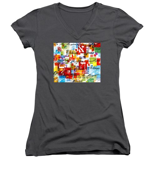 The Creator Women's V-Neck (Athletic Fit)