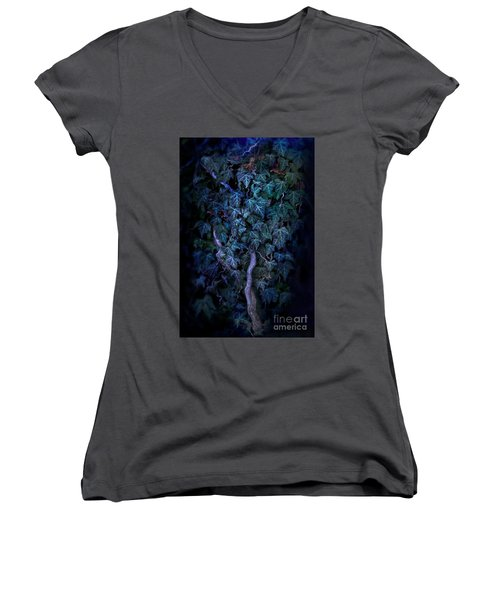 The Dark Side Women's V-Neck T-Shirt