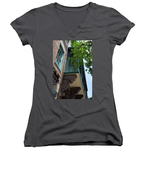 The Dock Women's V-Neck (Athletic Fit)