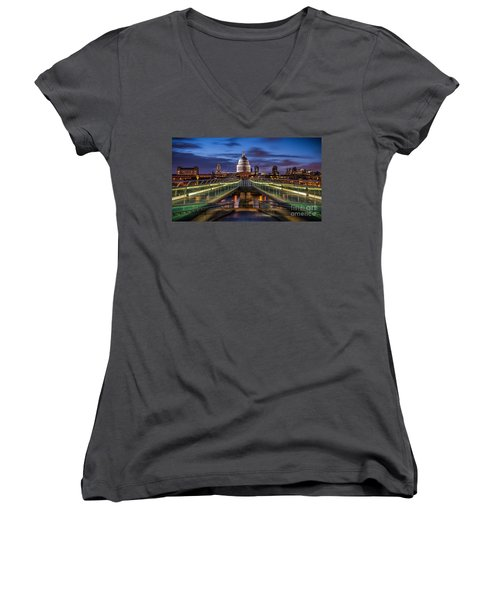 The Dome Women's V-Neck (Athletic Fit)