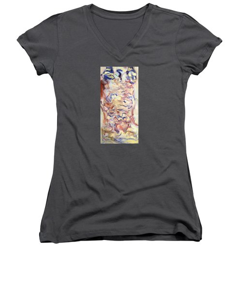 The Dream Stelae / Hatshepsut Women's V-Neck