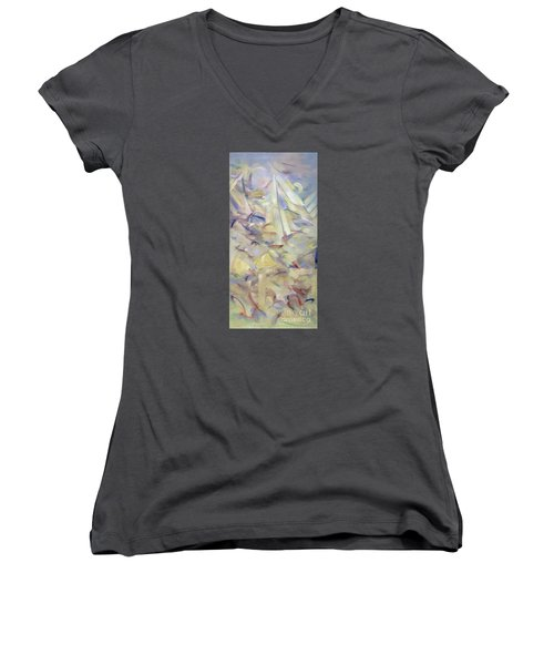 The Dream Stelae / Tutankhamen Women's V-Neck