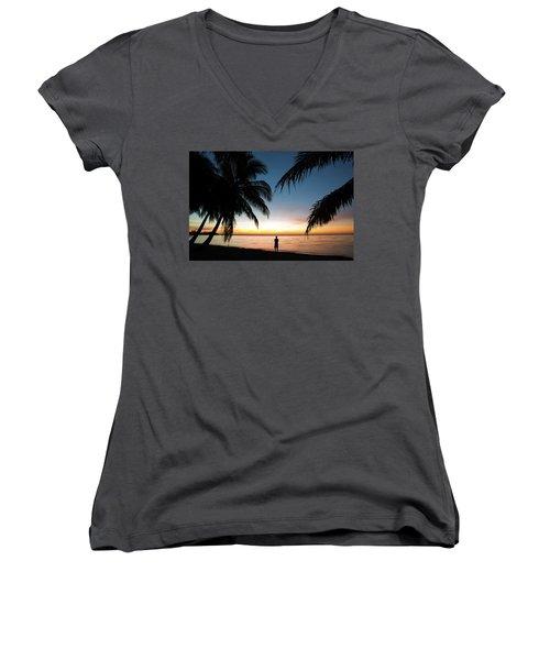 The Dreamer I Women's V-Neck T-Shirt