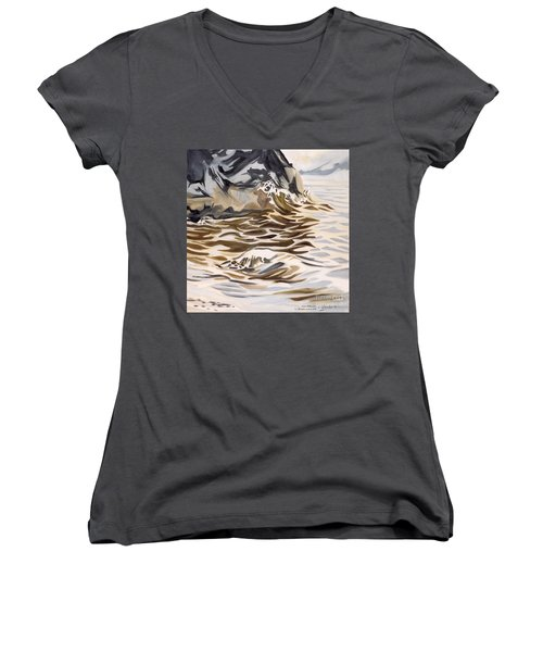The Eagles Nest At Gower Point Women's V-Neck T-Shirt