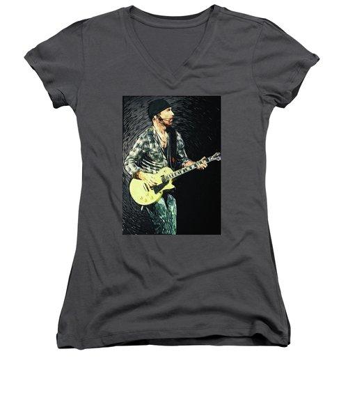 The Edge Women's V-Neck T-Shirt (Junior Cut)