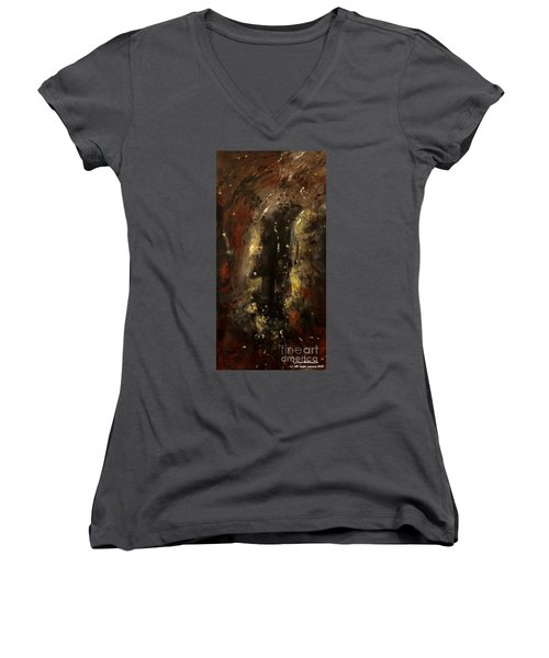 The Elements Earth #1 Women's V-Neck T-Shirt