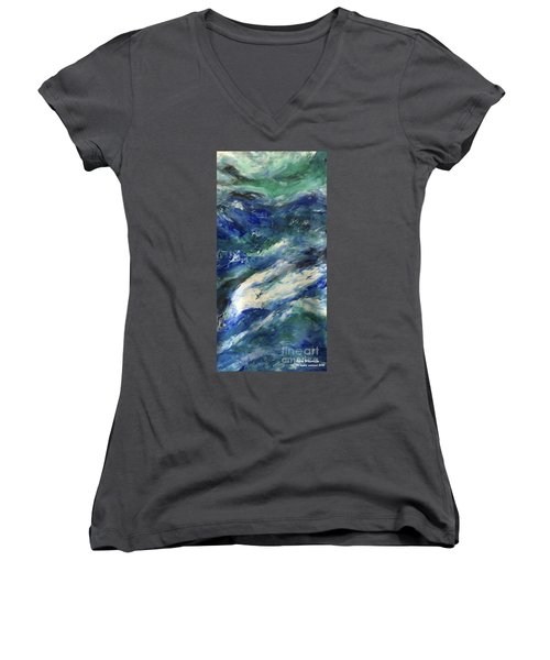 The Elements Water #4 Women's V-Neck T-Shirt