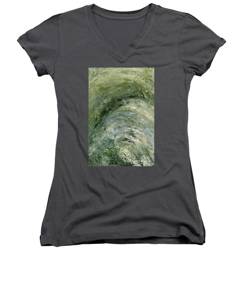 The Elements Water #6 Women's V-Neck (Athletic Fit)