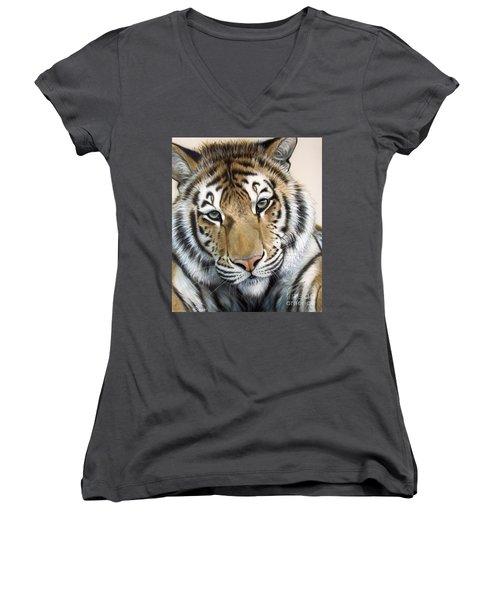 The Embrace Women's V-Neck T-Shirt