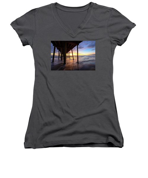 The Enchanted Pier Women's V-Neck