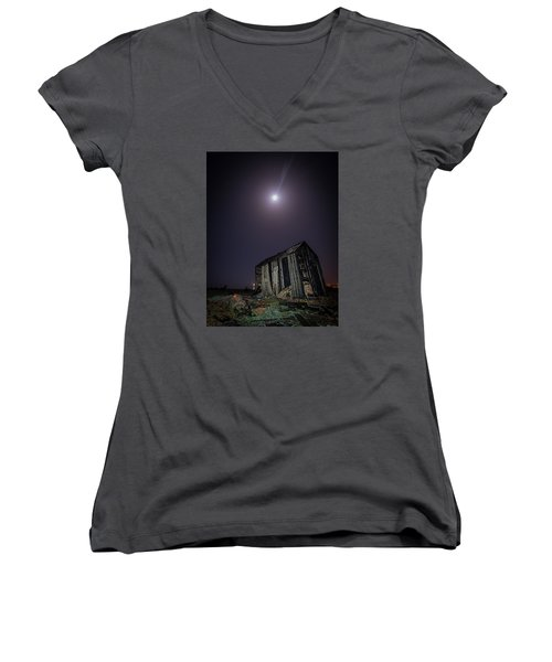 The End Is Nigh Women's V-Neck (Athletic Fit)