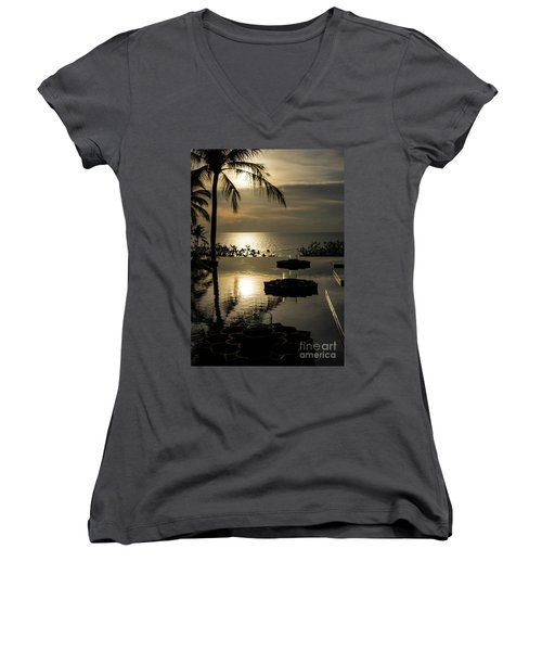 The End Of The Day Women's V-Neck (Athletic Fit)