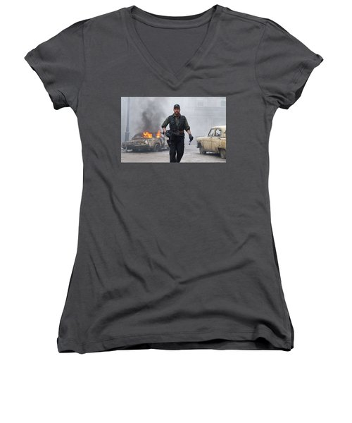 The Expendables Women's V-Neck