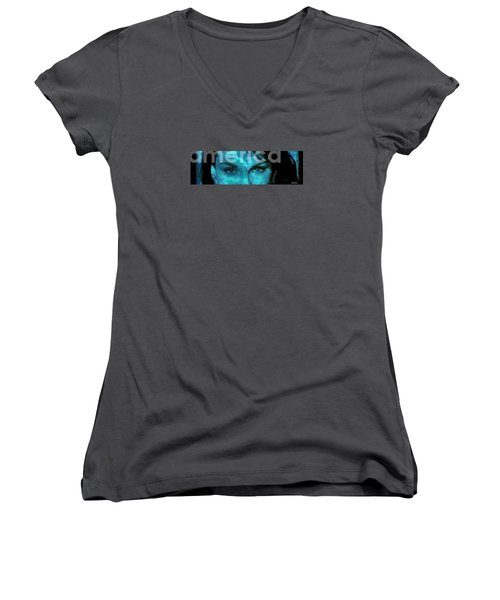 The Eyes Have It Women's V-Neck T-Shirt