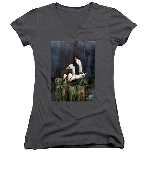 The Family Portrait Women's V-Neck T-Shirt
