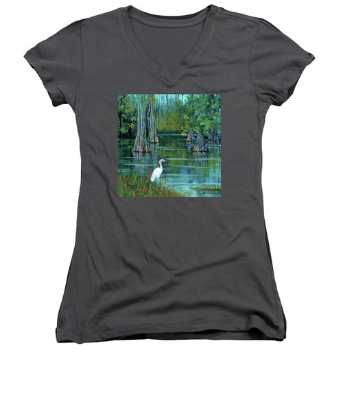 The Fisherman Women's V-Neck (Athletic Fit)