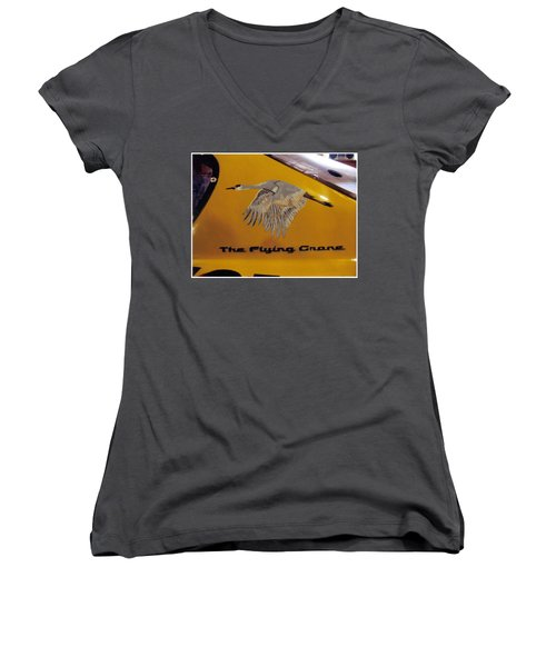The Flying Crane Women's V-Neck