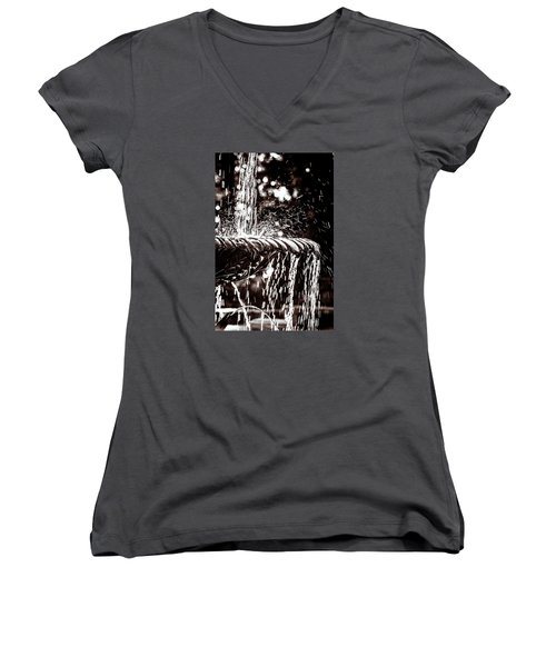 The Fountain Women's V-Neck T-Shirt