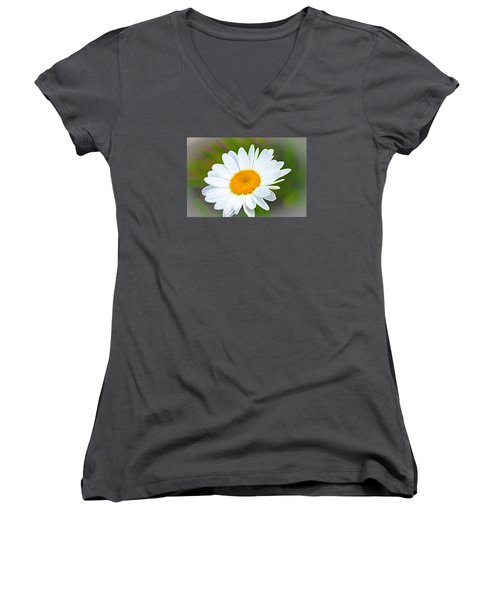 The Friendliest Flower Women's V-Neck T-Shirt