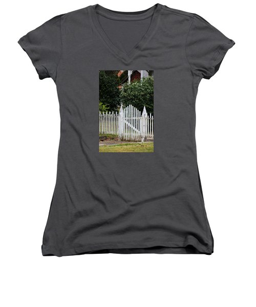 The Front Gate Women's V-Neck (Athletic Fit)